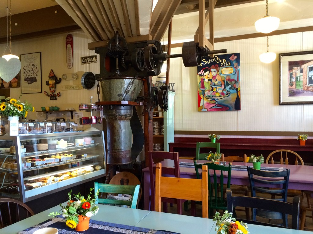 Sweetie Pies cafe in Napa is very cosy