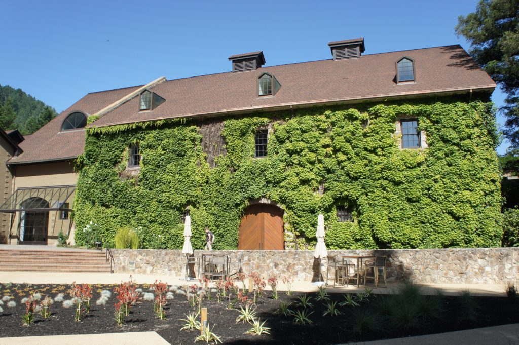 The Hess Collection, historic winery building