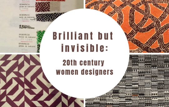 Finding 20th century women designers
